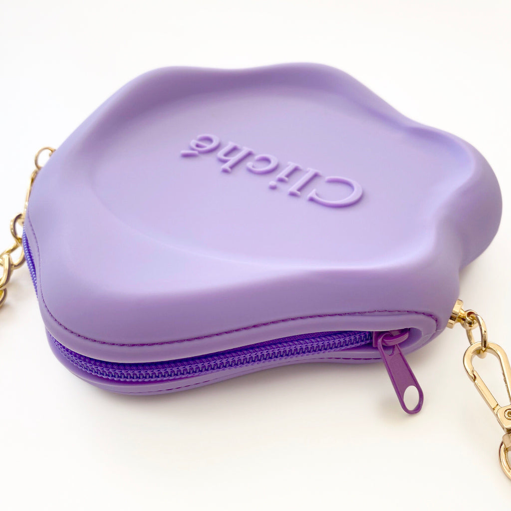 Jumbo Seal Stamped Bag (Purple)