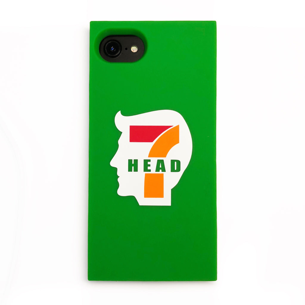 iPhone SE/7/8 Parody Simple Case - 7 Head