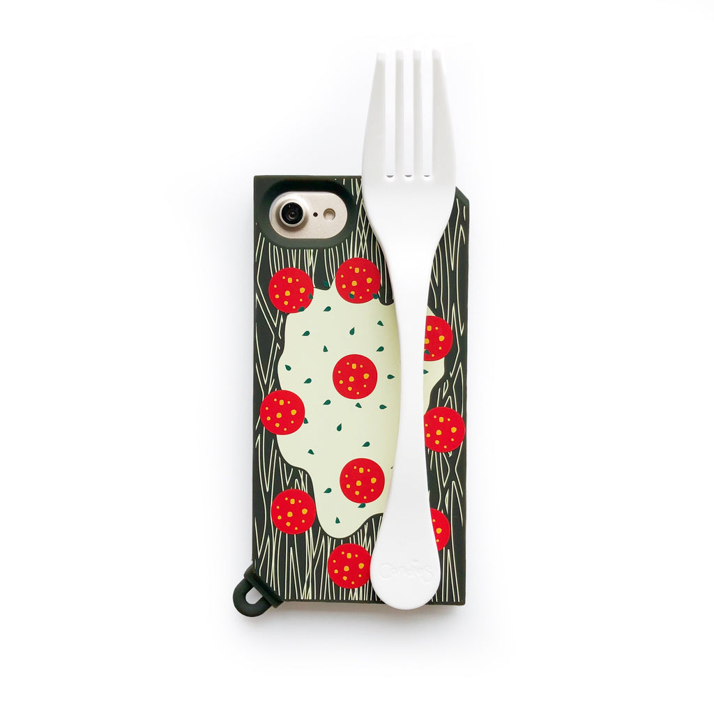iPhone 7/8 Handle Case - Squid Ink Spaghetti