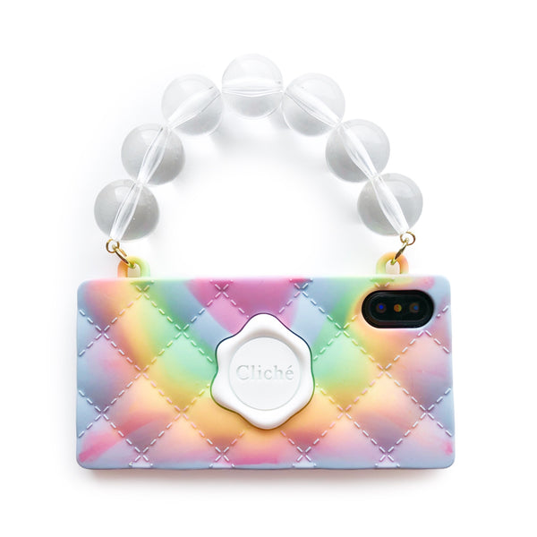 iPhone X - Tie Dye Seal Stamped Case
