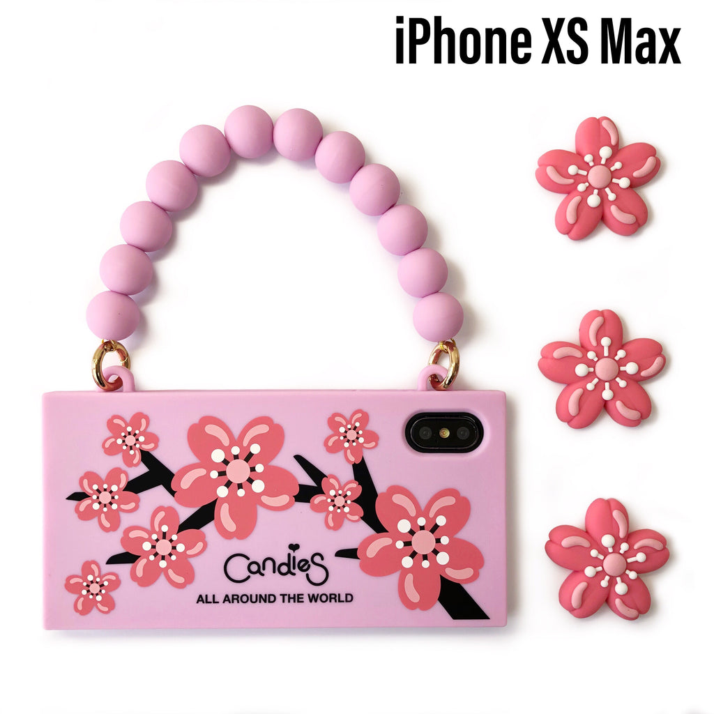 Sakura iPhone Case and Play Icon Set