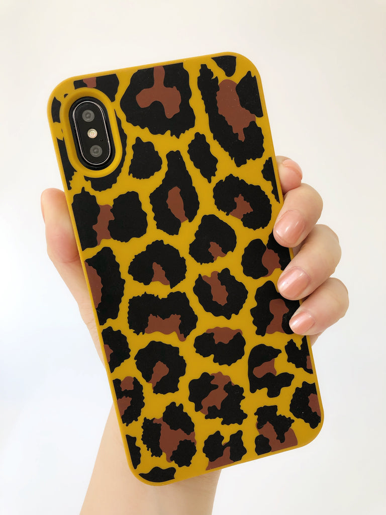 iPhone X/XS Simple Case - Leopard