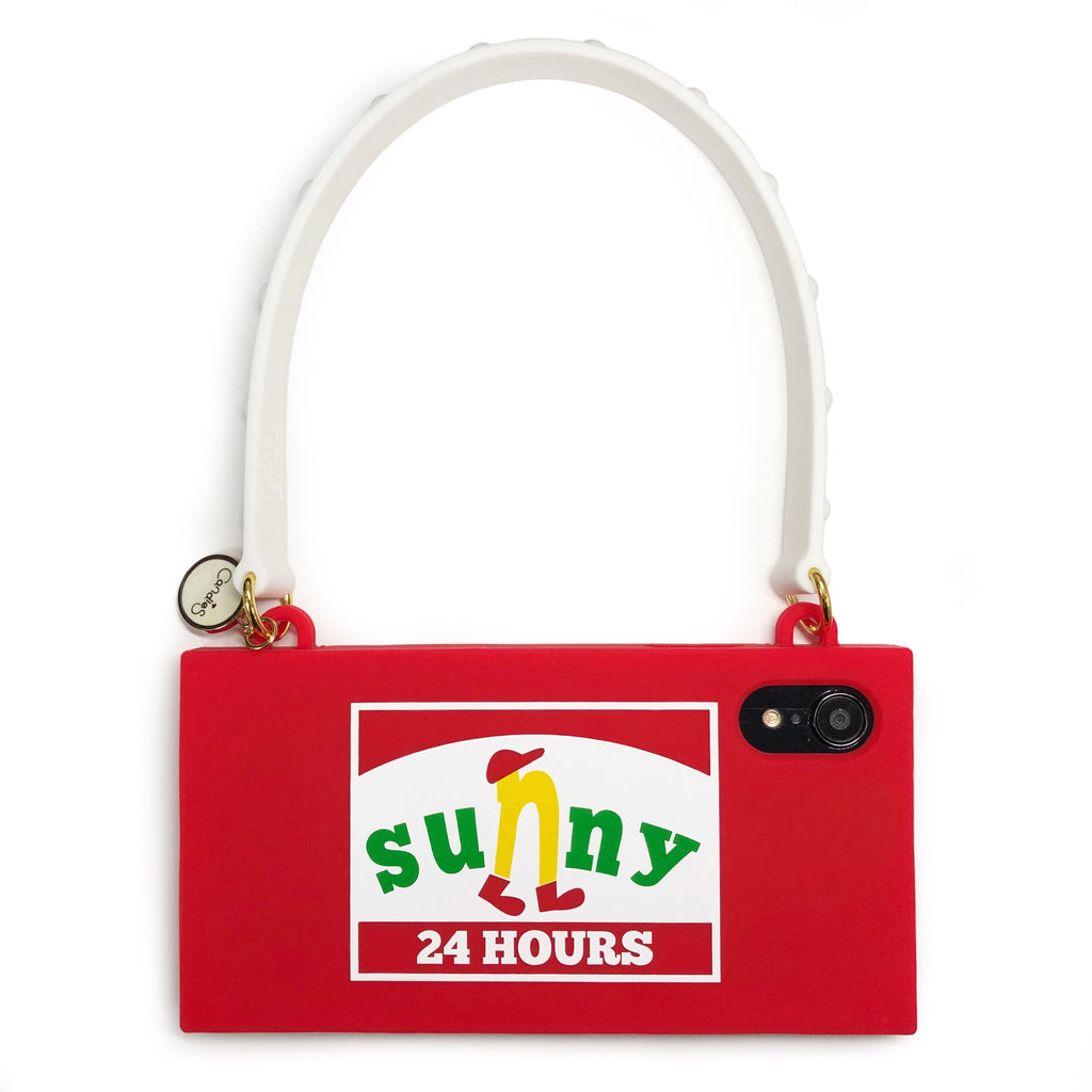 iPhone XR Parody Handbag Case - Sunny 24 Hours