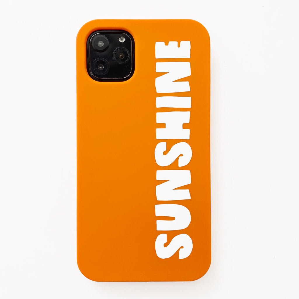 iPhone 11 Pro Max Simple Case - Sunshine