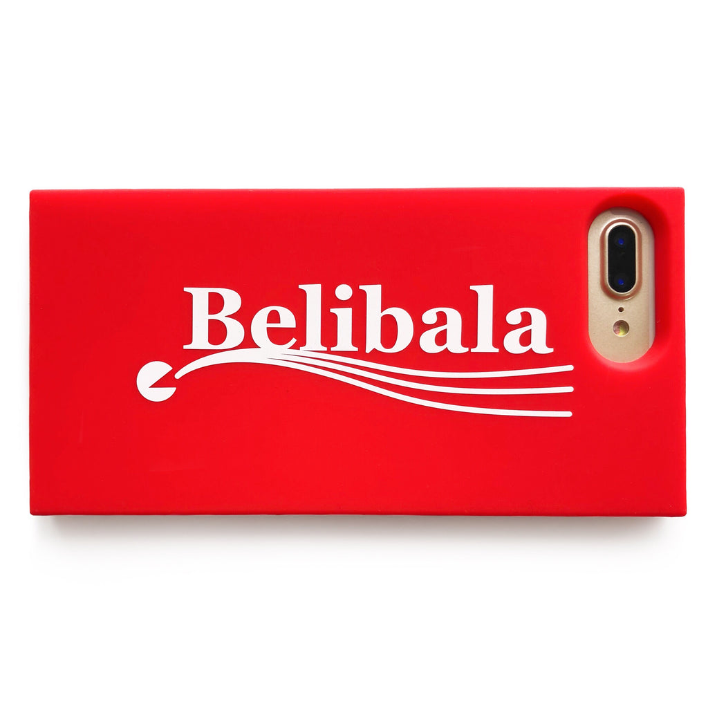 iPhone 7 Plus/8 Plus Simple Case - Belibala (Red)