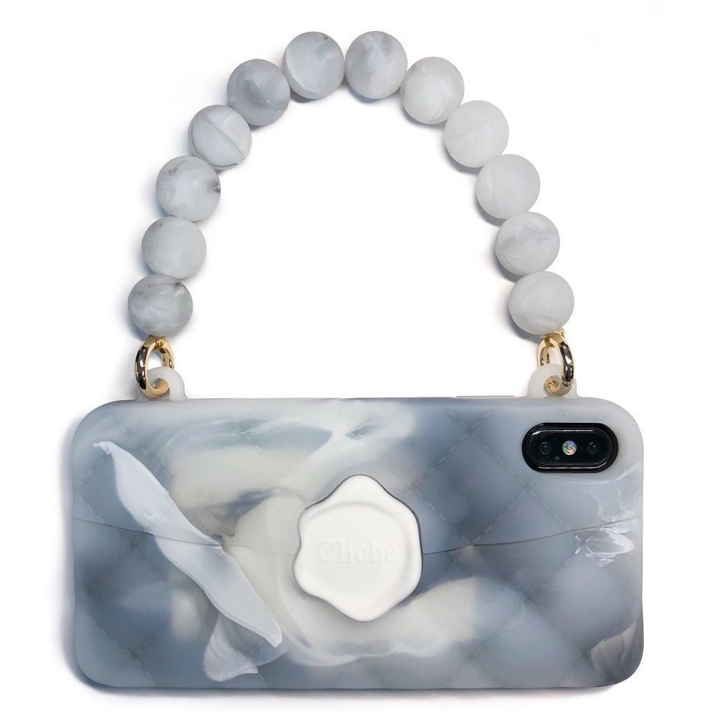 iPhone XS Max Marble Seal Stamped Case