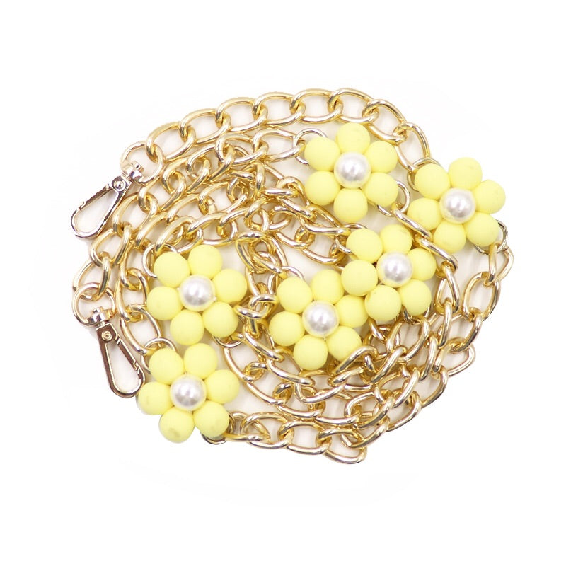 Blossom Long Strap (Yellow)
