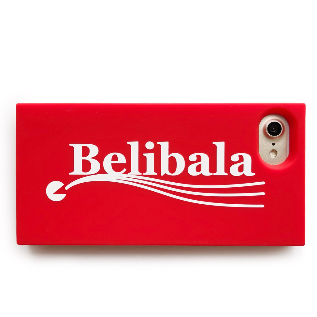 iPhone SE/7/8 Simple Case - Belibala (Red)