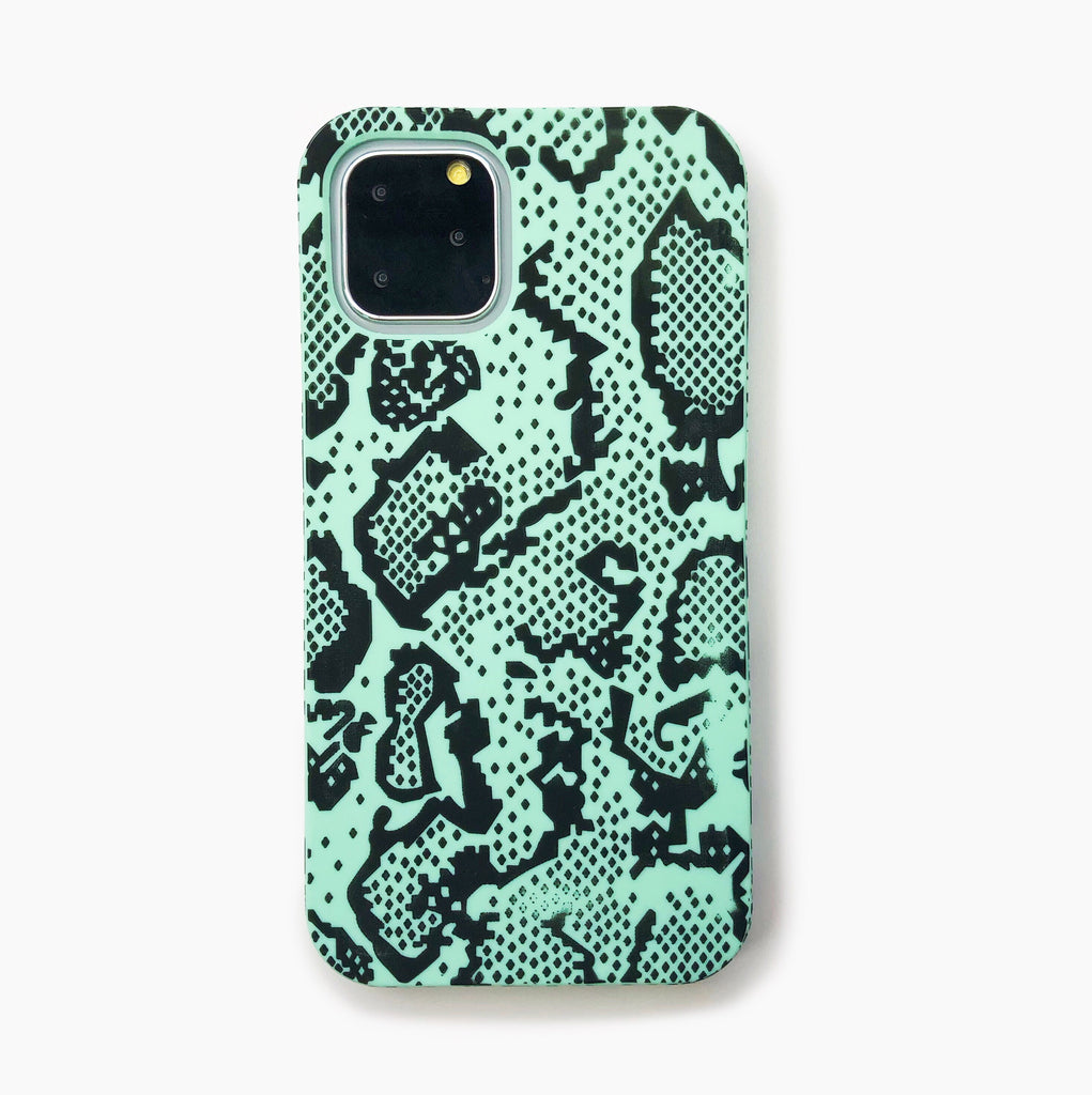 iPhone 11 Pro Simple Case - Snake Temptation (Green)