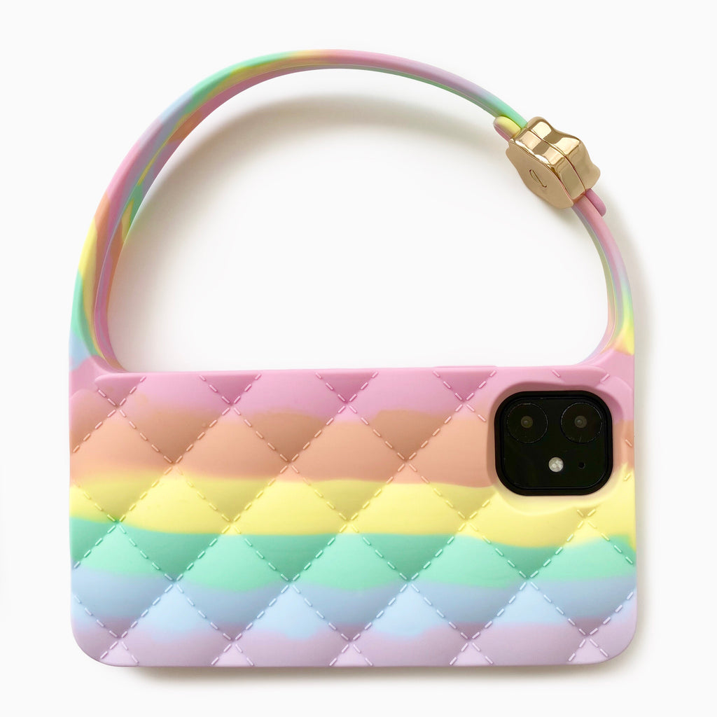 iPhone 11 Quilted Hobo Bag Case