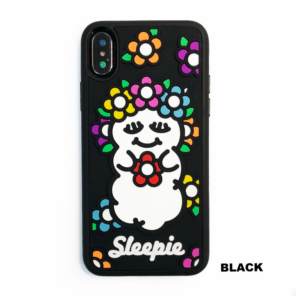 iPhone X/Xs Plastic Case - Spring Sleepie