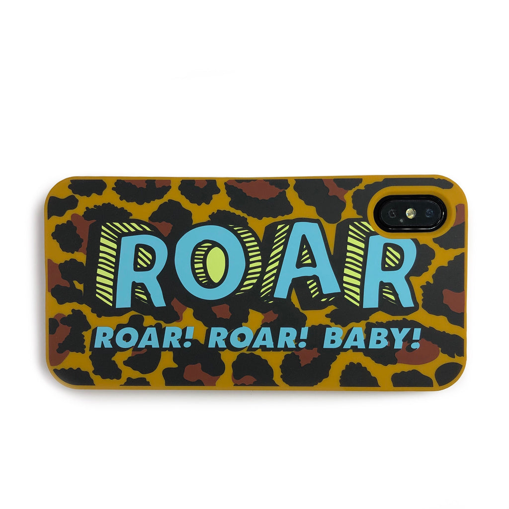 iPhone XS Max Simple Case - Leopard (ROAR)