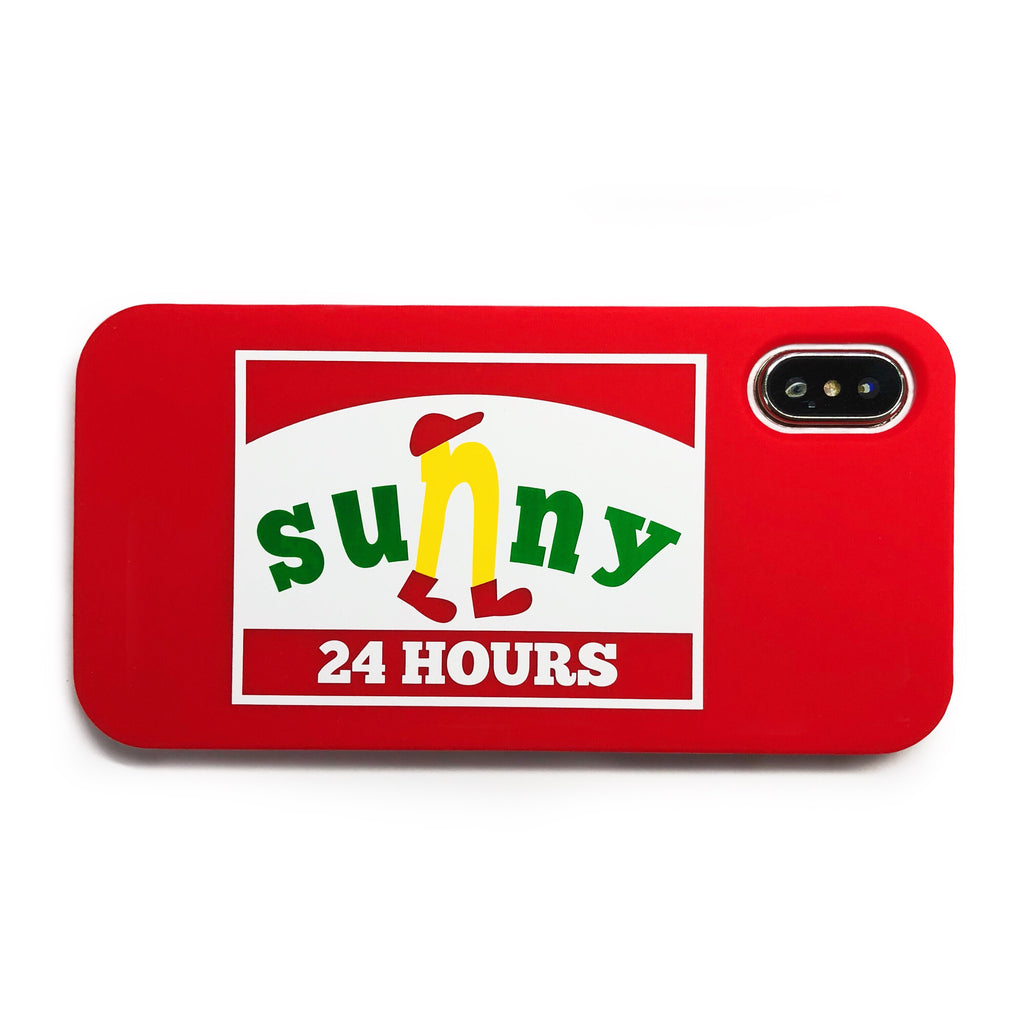 iPhone X/Xs Parody Simple Case - Sunny 24 Hours