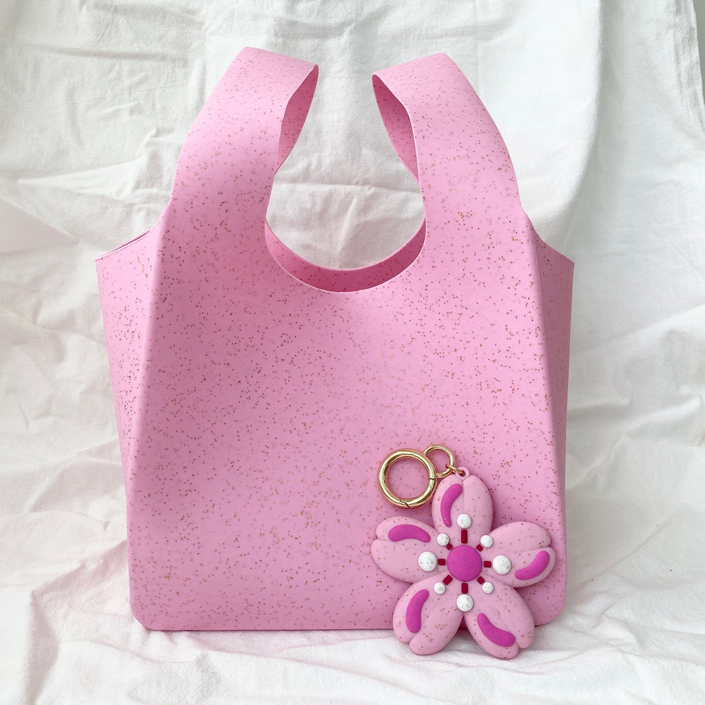 Swing Bag and Sakura Happy Charm Set (Pink)