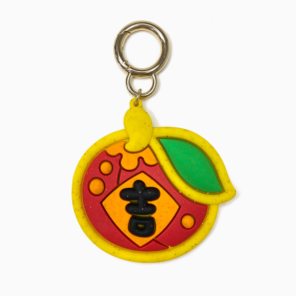 Happy Charm - Lucky Tangerine with Glitters