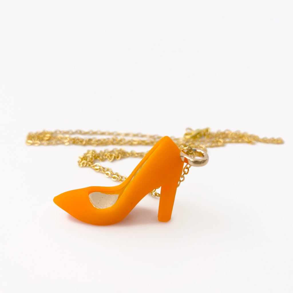 Silicone High Heel Necklaces (7 colours)