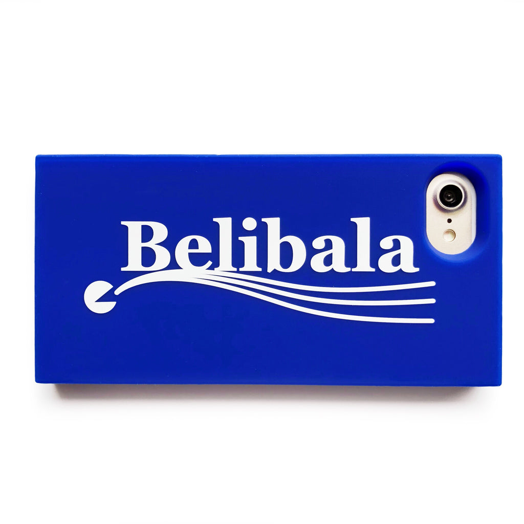 iPhone 7/8 Simple Case - Belibala (Blue)