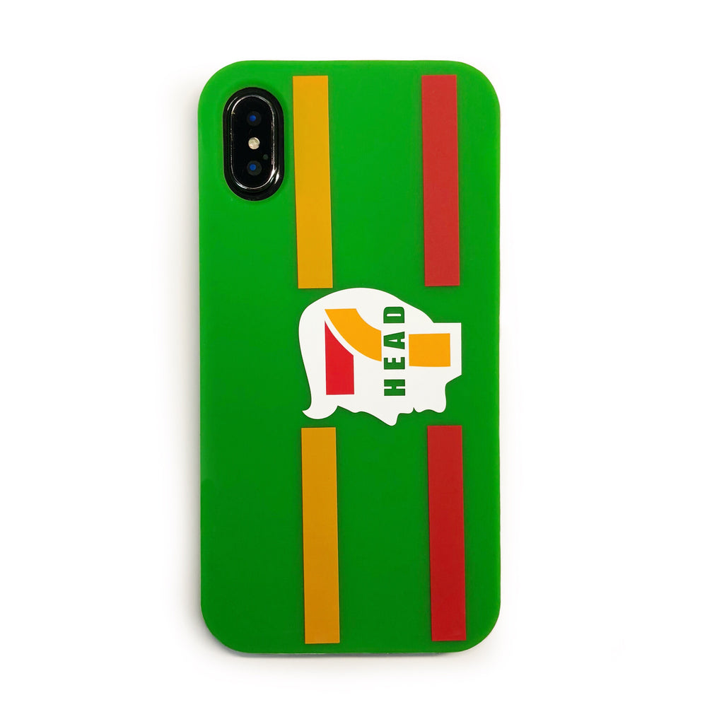 iPhone X/Xs Parody Simple Case - 7 Head