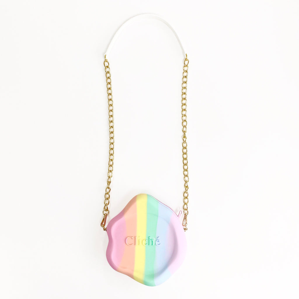 Jumbo Seal Stamped Bag (Rainbow)