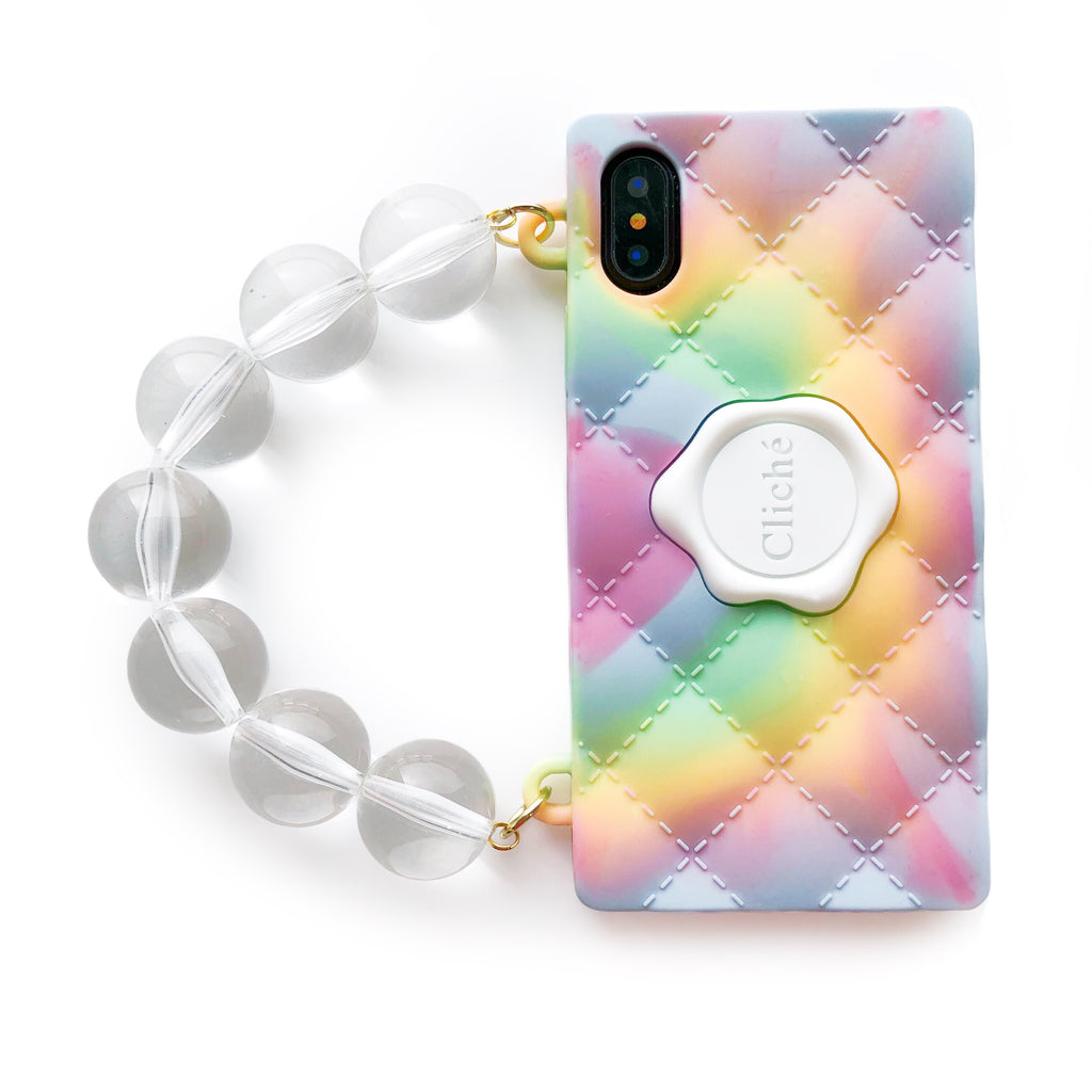 iPhone X/Xs - Tie Dye Seal Stamped Case