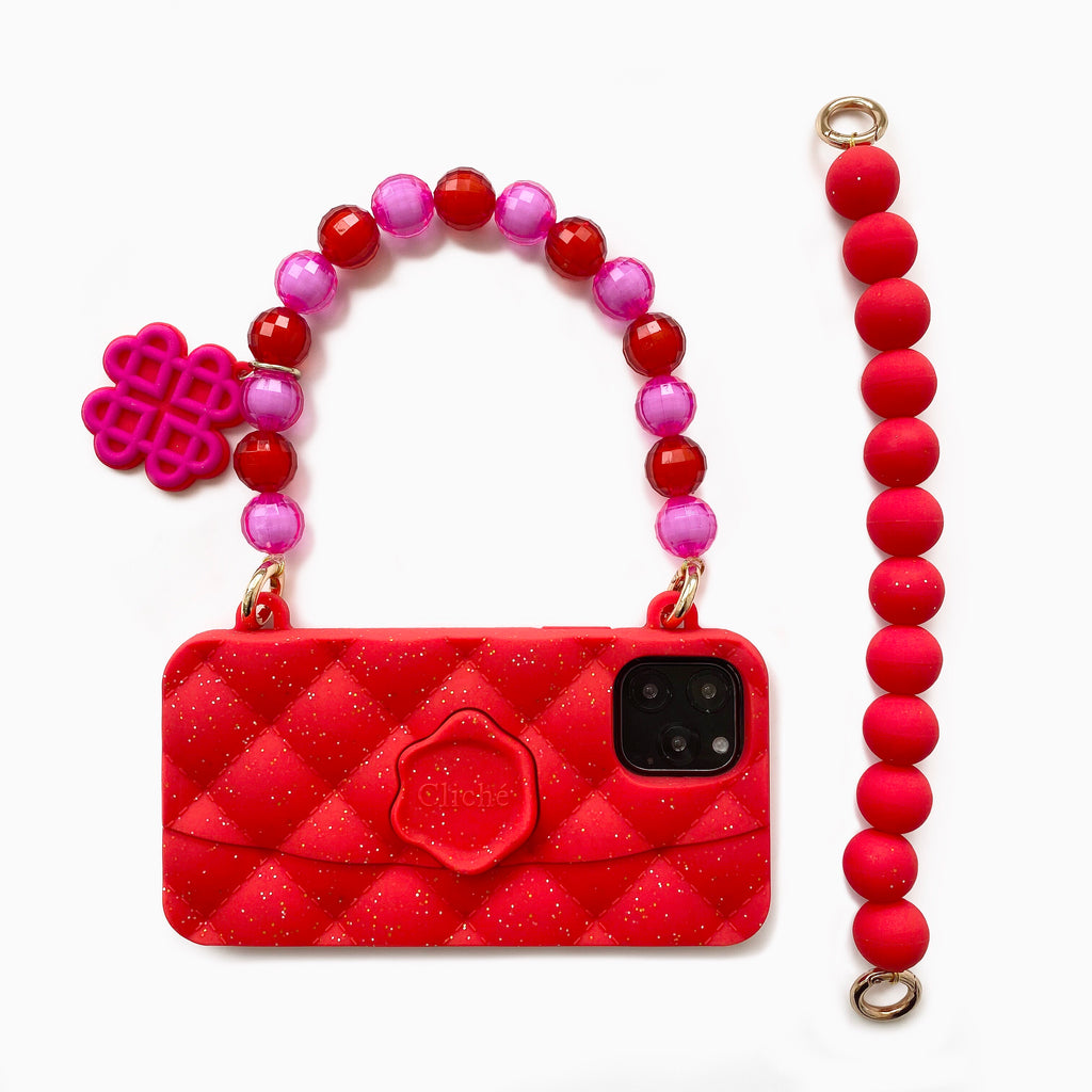 iPhone 11 Pro Lunar New Year Red Seal Stamped Case
