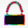 iPhone X Rainbow Handbag Case - LOVE WON'T WAIT!