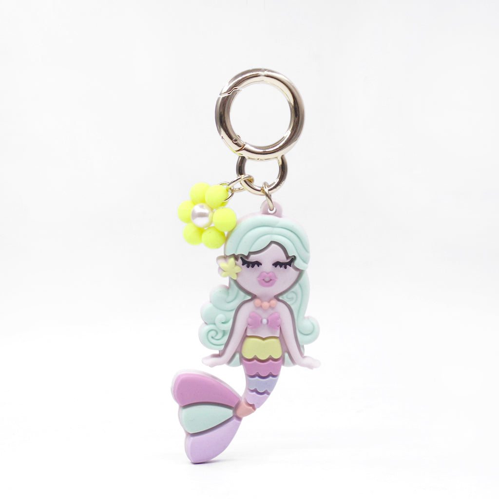 Happy Charm - Little Mermaid with Blossom Flower