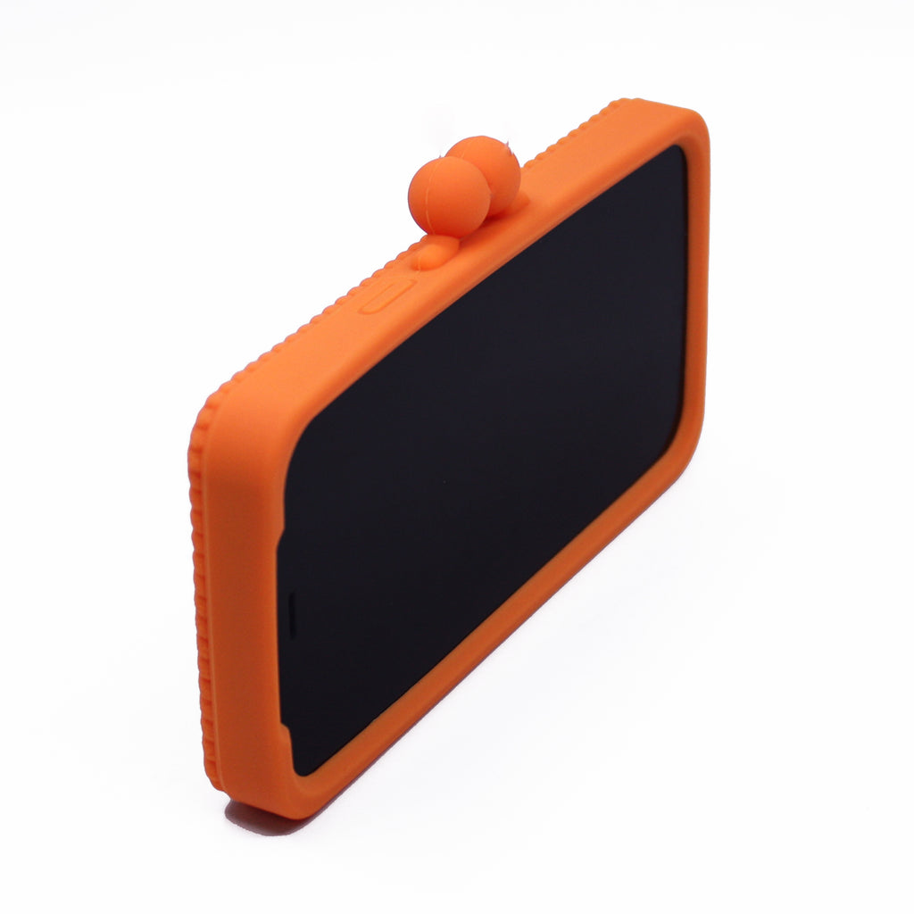 iPhone 12 Pro Max Knitted Case (Orange)