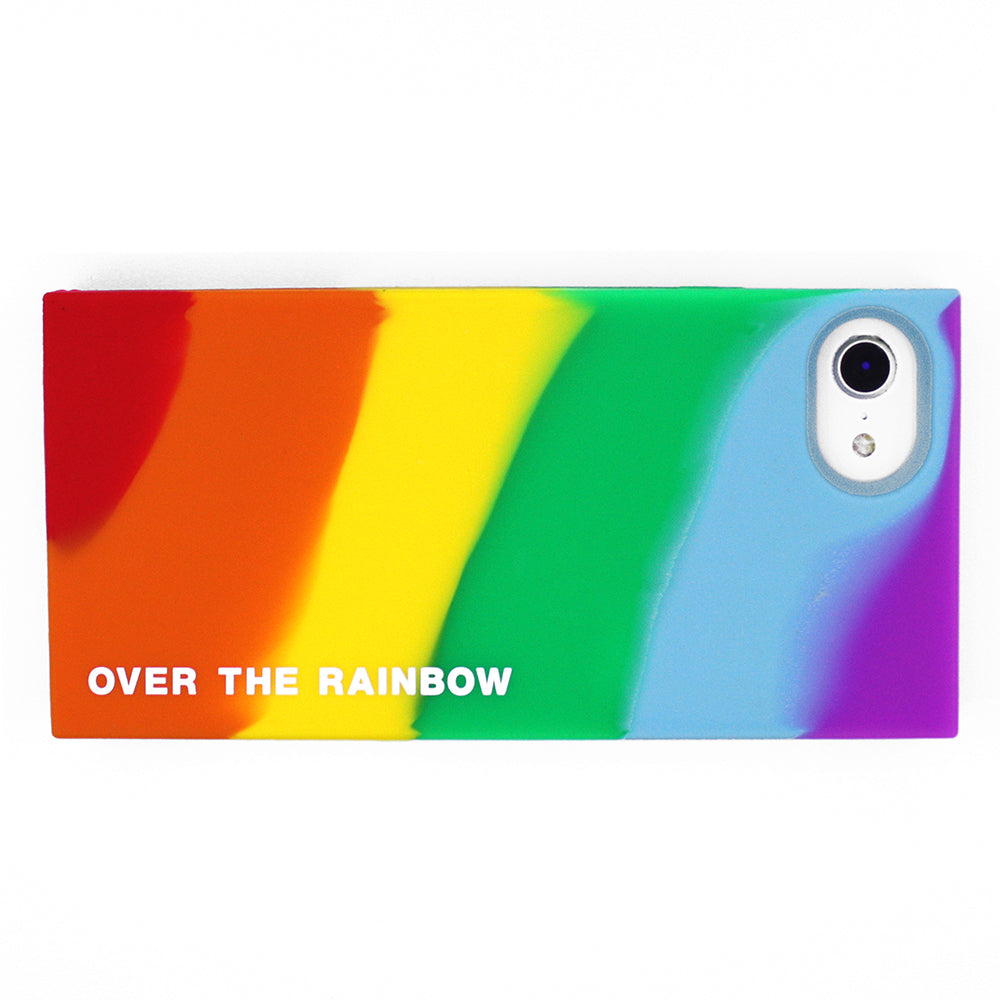 iPhone 7/8 Rainbow Simple Case - Over the Rainbow