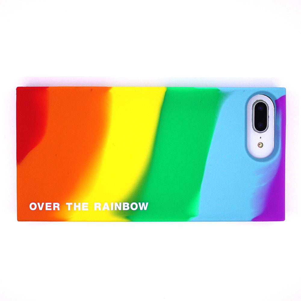 iPhone 7 Plus/8 Plus Rainbow Simple Case - Over the Rainbow