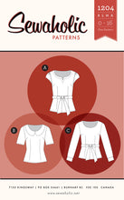 Load image into Gallery viewer, Sewaholic Sewing Patterns Australia