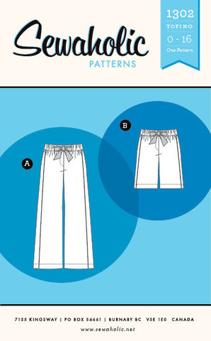 Tofino Pants - Patterns Australia