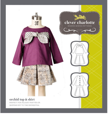 Orchid Top & Skirt - Patterns Australia