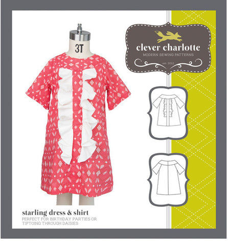 Starling Dress and Shirt - Patterns Australia