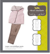 Load image into Gallery viewer, Jasper Vest & Jodpur pants - Patterns Australia