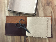 Load image into Gallery viewer, Leather Needle Wallet