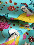 Midday Social Seagrass - Decorator Fabric