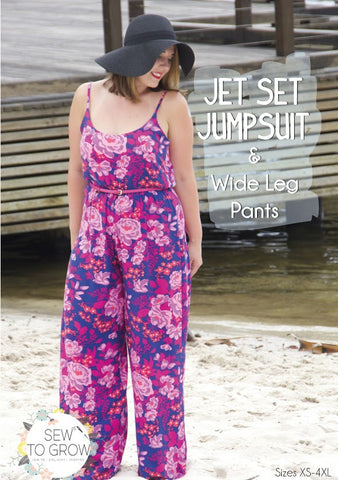 Jet Set Jumpsuit & Wide Leg Pants