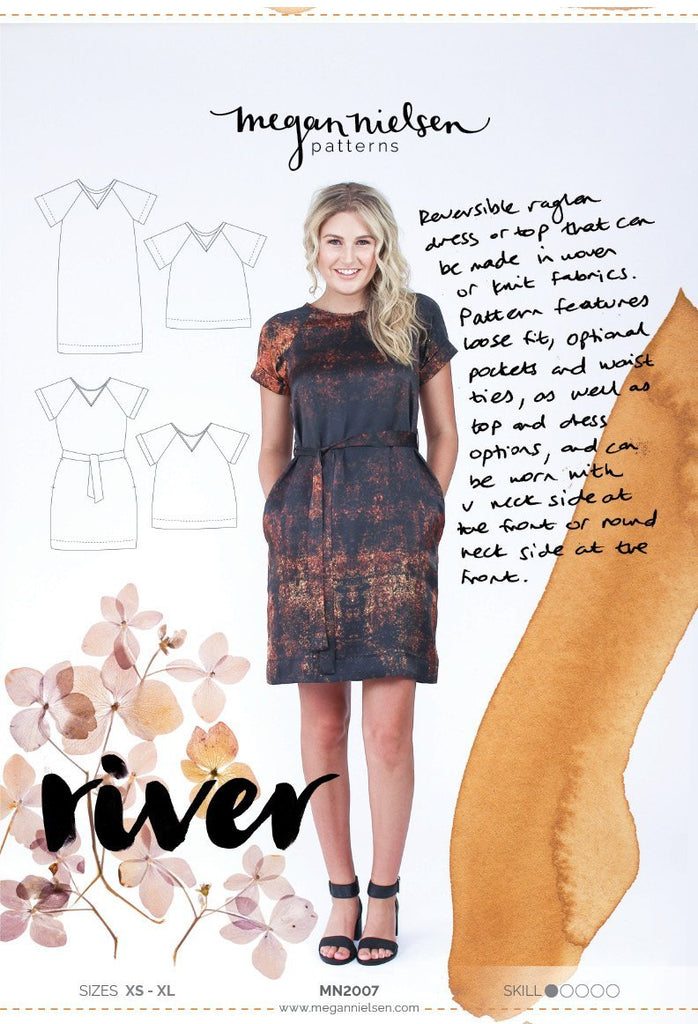 River Dress & Top - Megan Nielsen