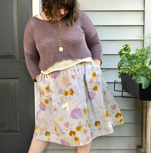 Gypsum Skirt - Sew Liberated