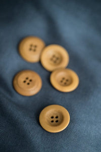 Corozo Gold 22mm Button