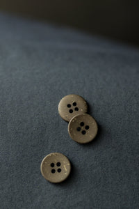 Olive Speckles 18mm Button