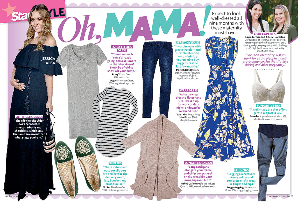 Star Magazine: Oh Mama! Expert Style Tips for Maternity Must-Haves