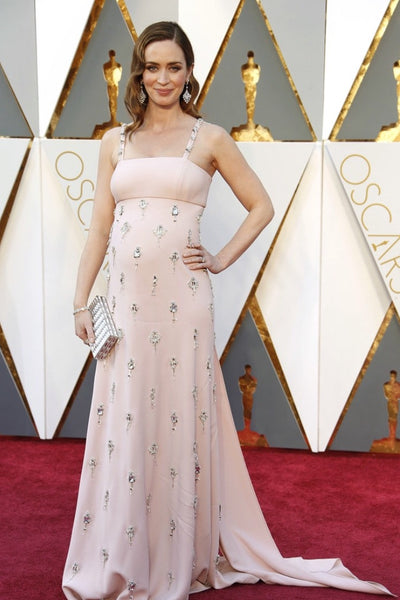 Emily Blunt in Prada at the 2016 Oscars