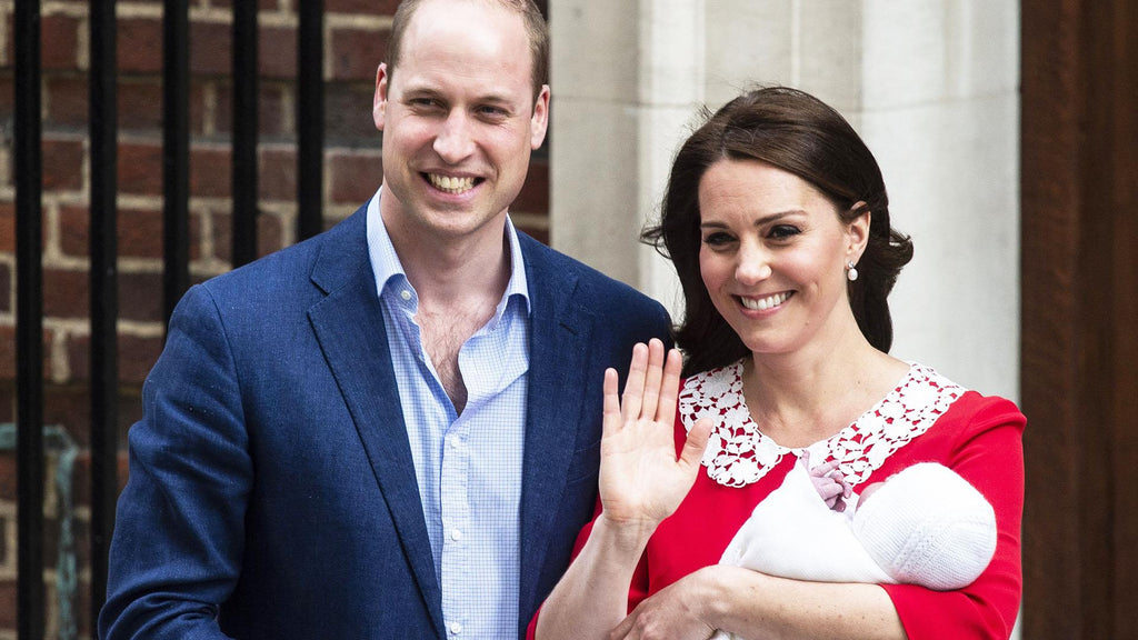 Duke and Duchess of Cambridge with New Baby