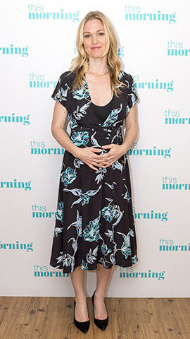 Us Weekly: Julia Stiles' Pregnancy Style - Wearing Yumi Kim From TILDEN