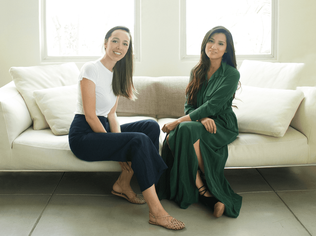 Yumi Co-Founders Angela Sutherland and Evelyn Rusli | TILDEN