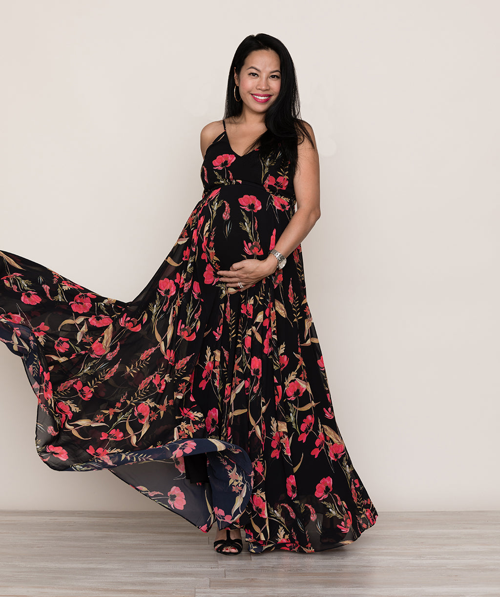 Yumi kims kim phan talks pregnancy and fall fashion yumi kim designer kim phan for tilden peace and love maxi ruby rose ombrellifo Images