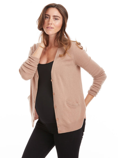 Equipment Sullivan Cashmere Cardigan - Camel | TILDEN