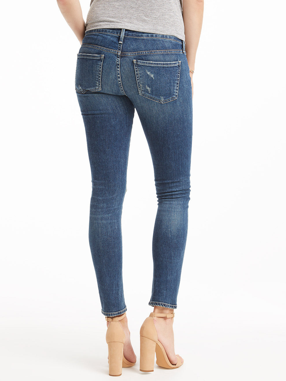 Citizens of Humanity Maternity Racer Skinny Jean - Distressed Weekender | TILDEN